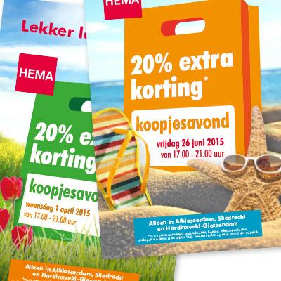Hema – flyers
