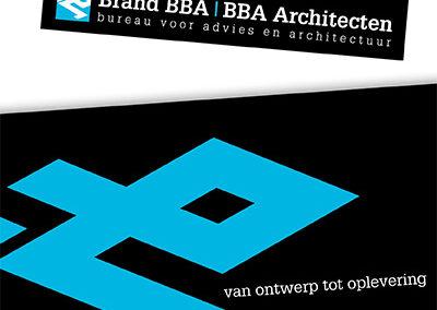 Brand BBA Architecten – huisstijl